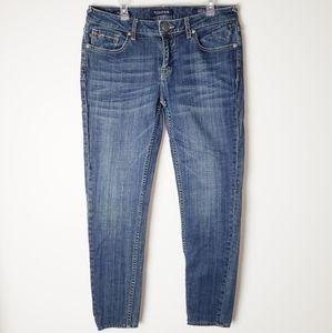 Vigoss Chelsea Skinny Mid-Rise Jeans